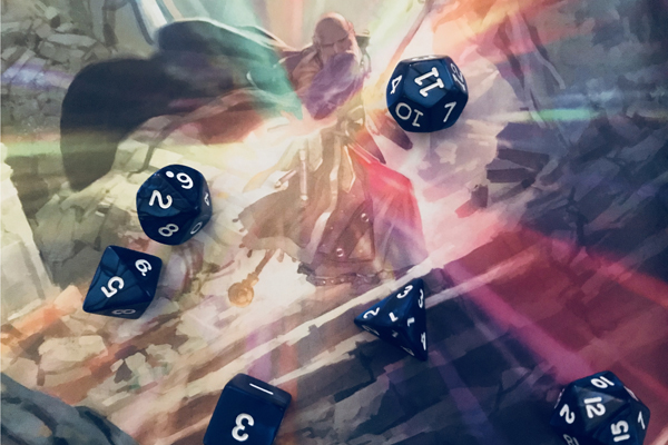 Dungeons and Dragons Dice