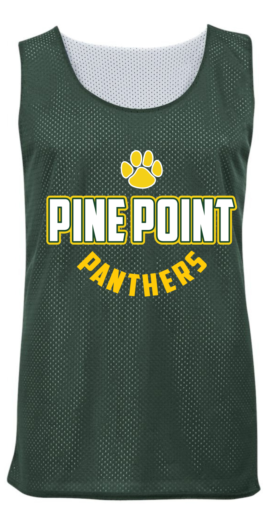 Pine Point basketball jersey